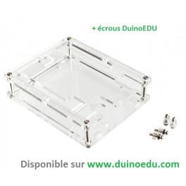Boîte protection pour UNO + vis DuinoEDU