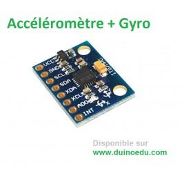 Accéléromètre 3 axes et gyroscope 3 axes Dupont