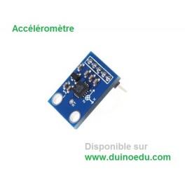 Accéléromètre 3 axes analogique +/-3g Dupont