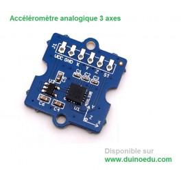 Accéléromètre analogique 3 axes  +/-3g Grove