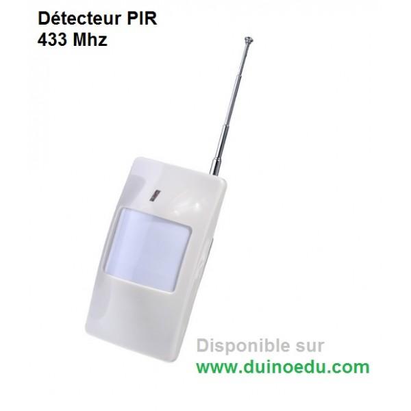 D tecteur de pr sence 433mhz duinoedu - Detecteur de presence sans fil exterieur ...