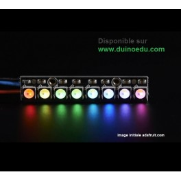 GM - Barreau de 8 LED RGB pilotables individuellement