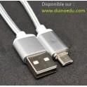 D1 Câble magnétique anti-casse Micro USB (pour cartes D1, Microbit, Node...)