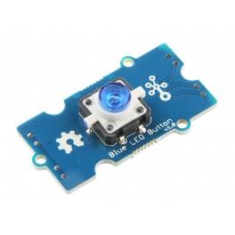 WM - Bouton poussoir Grove - avec LED Bleue