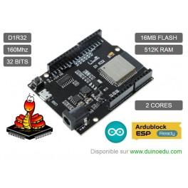 Carte D1R32 Wifi / BLE - Ardublock & Python