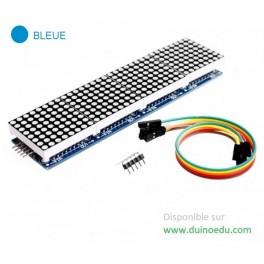 WM - Matrice sans bord X4 cascadables - Bleue