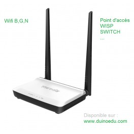 Point d'accès Wifi / switch / WISP