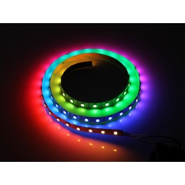 Ruban nu de 60 LED RGB pilotables individuelement sur 1m