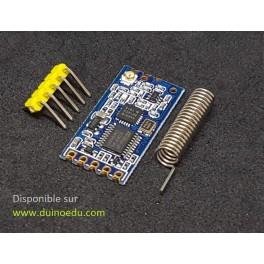 PM - Module émetteur/récepteur 433Mhz - 1km théorique - 100 channels chanels