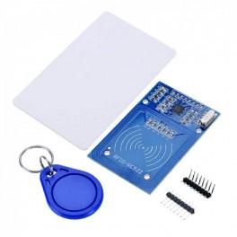 Lecteur RFID 13.56Mhz + 1 badge + 1 carte - Dupont