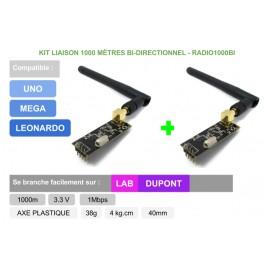 PACK liaison RADIO + double sens + codée pour Arduino