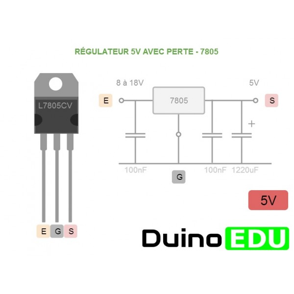 Regulateur 7805 pdf