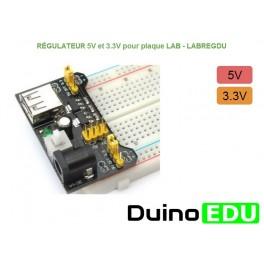 Régulateur de tension 5V (avec perte) 7805