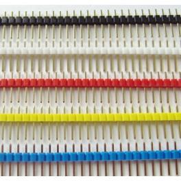 Pack Barettes 40 picots SIL 5 couleurs