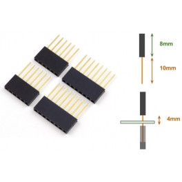 Broches longues MF pour Arduino