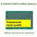 VE - Plaque pastillée 5 x 7cm double face haute qualité