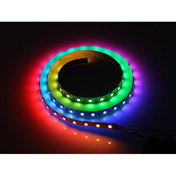 gm ruban nu de 60 led rgb pilotables individuellement sur 1m duinoedu. Black Bedroom Furniture Sets. Home Design Ideas