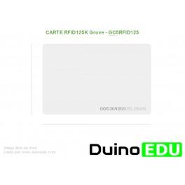GM RFID - Carte RFID 125K fine