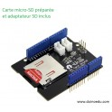 WM SD - Shield Grove pour carte SD + carte adaptée