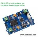 WM MOT - Module driver I2C  2 moteurs (ou 1 moteur pas-à-pas)