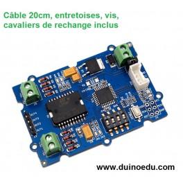 GM MOT - Module driver I2C  2 moteurs (ou 1 moteur pas-à-pas)